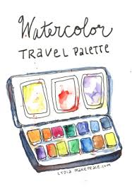 basic watercolor palette 12 essential colors u2014 artist lydia makepeace