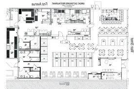 Kitchen Design Restaurant Restaurant Kitchen Floor Plan Formidable Kitchen Layout Dimensions