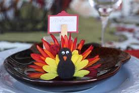 27 cheerful diy thanksgiving place cards highpe