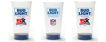 bud light touchdown glass app bud light to debut branded light up beer glasses