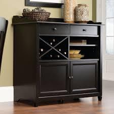sauder black bookcase amazon com sauder edge water side board estate black buffets