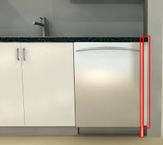 how to install cabinet filler panels cabinet panel dishwasher dishwasher cabinet filler panel next to