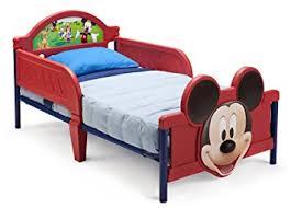 Amazoncom  Delta Children Disney Mickey Mouse Convertible - Non toxic childrens bedroom furniture