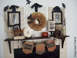halloween mantels halloween home home stories a to z