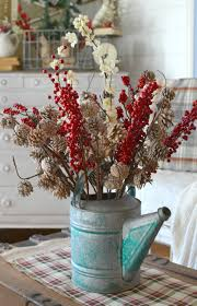 country christmas centerpieces vintage farmhouse christmas tree vintage nest