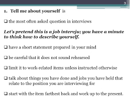 most questions in job interview general interview questions most unusual questions ppt download