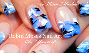 nail art water marble nail art without videos tutorial youtube