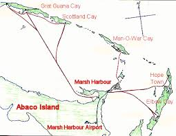 abaco resort map interactive map of the bahamas with photos web addresses