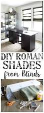 diy burlap roman shades from blinds bless u0027er house