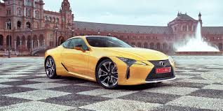 lexus yellow convertible 2017 lexus lc500 review gearopen