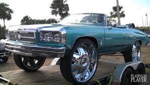 Muscle Car Rims - 1975 chevy caprice on 32 inch rims central florida series youtube
