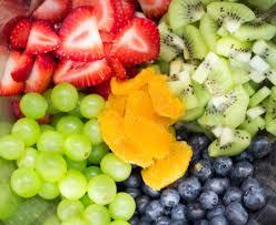 fruit rainbow salad