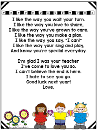 end of year memory book letter to students and parents love