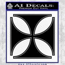 iron cross decal celtic sticker d4 a1 decals