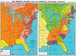 map of colonies thirteen colonies 1760 1775 u s history map