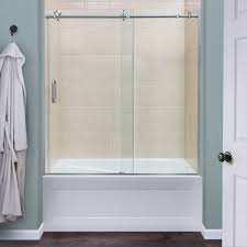 glass shower doors for tubs sterling shower doors tub enclosure doors lasco shower doors