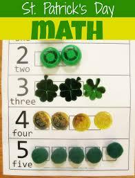 st patrick u0027s day math activity