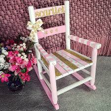Little Tikes Classic Rocking Chair Pink Best 25 Painted Kids Chairs Ideas On Pinterest Painted Chairs