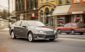 lexus sedan models 2013 2013 lexus es300h hybrid test u2013 review u2013 car and driver