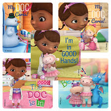 doc mcstuffins patient stickers character stickers smilemakers