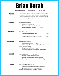 Subway Resume Example by Art Teacher Resume Sample Page 1 Artist Resume Template