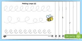 repeating pattern activity sheets shapes and colours