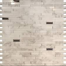 white carrara marble dog bone kitchen backsplash mosaic buy dog