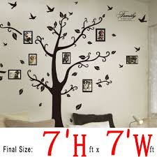 dagou huge 7 ft h x 7 ft w wall decals memory tree and birds dagou huge 7 ft h x 7 ft w wall decals memory tree and birds wall stickers murals amazon com