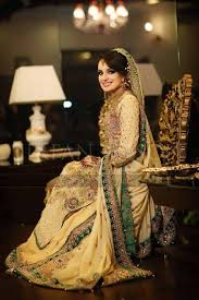 new bridal dresses 4 skin and green color bridal wear dress by ali xeeshan adworks