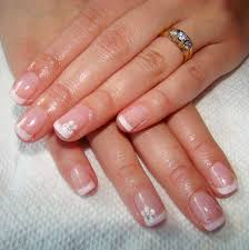 how to do a french manicure on short nails with images manicure