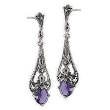 amethyst earrings amethyst earrings ebay
