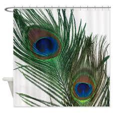Amazon Com Shower Curtains - bathroom sweet peacock shower curtain for beautiful bathroom