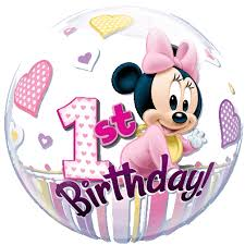 18 minnie mouse happy birthday daughter foil balloon