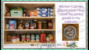 how to organize kitchen cabinets with food kitchen organization how i organize my pantry goods in the kitchen cabinets