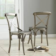 Metal Dining Room Chair Aluminum Dining Room Chairs Entrancing Design Aluminum Dining Room