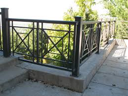 Banister Lake Iron Anvil Railing X Pattern Christensen Bountiful 0 Iron Rails
