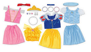 Inexpensive Children S Clothing Amazon Com Disney Princess Dress Up Trunk Amazon Exclusive