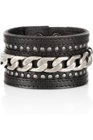 chain bracelet with leather images 334 best leather cuffs bracelets belts collars jewelry images jpg