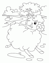 lost sheep coloring pages kids coloring