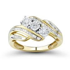bridal gold rings modern wedding engagement jewelry