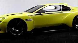 bmw concept csl norev bmw 3 0 csl hommage concept youtube