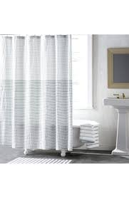 main picture black and white striped shower curtain australia