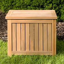 Wood Outdoor Storage Bench Holley 24