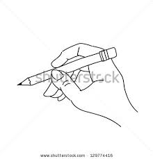 pictures drawing of hand holding pencil drawing art gallery