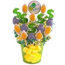 lollipop bouquet thank you candy bouquets thanks a million lollipop bouquet at