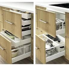 tiroirs cuisine separateur de tiroir cuisine tiroir de cuisine ikaca separateur de