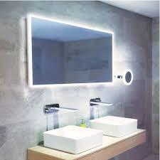 Bathroom Led Mirror Hib Globe 120 Led Mirror H 60 X W 120 X D 4 5cm