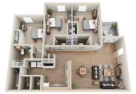 3 Bedroom Apartments Floor Plans Luxury 3 U0026 4 Bedroom Student Apartments In Columbia Sc