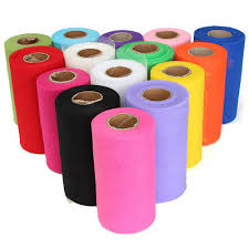tulle spools 6 x100 yards tutu tulle roll spool gift wrap craft bow wedding