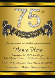 the 25 best 75th birthday invitations ideas on pinterest 60th